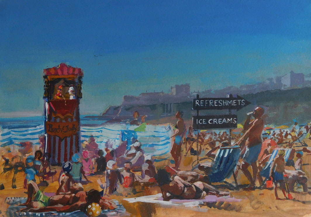 Mark-Pearson-artist-Broadstairs-beach-40cm x 50xm-acrylic-&-ink-on-paper.jpg