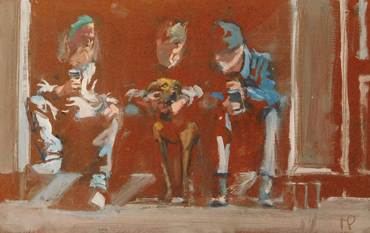 Mark-Pearson-artist-Doorway-Drinkers-I-22cm-x-32cm-oil-on-board.jpg