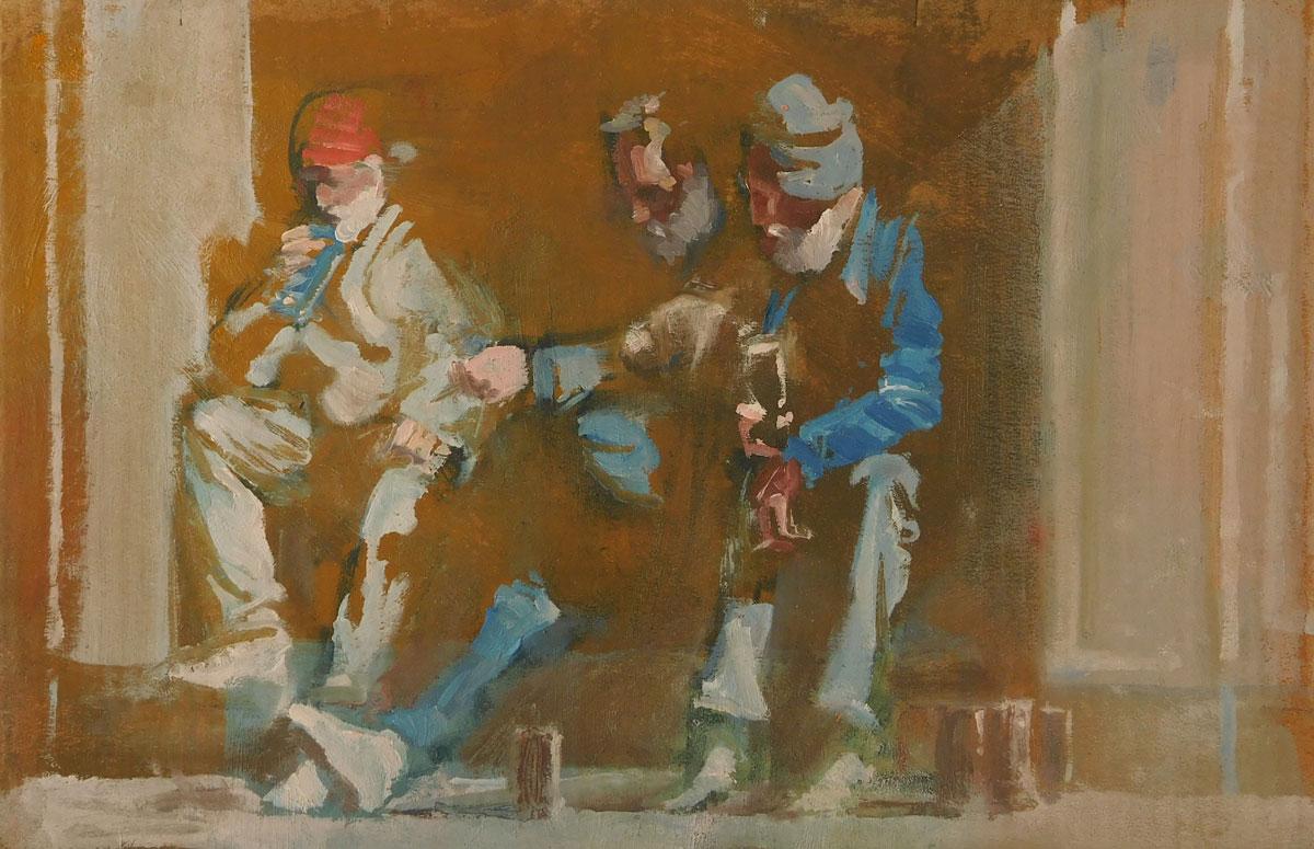 Mark-Pearson-artist-Doorway-Drinkers-II-20cm-x-30cm-oil-on-cardboard.jpg