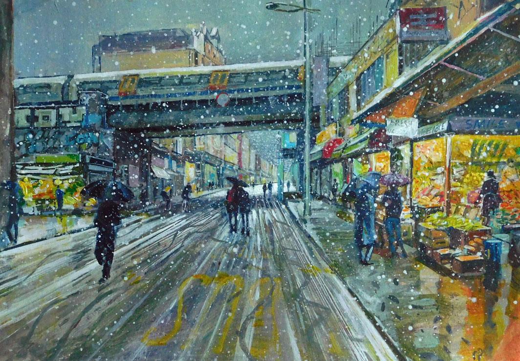 Mark-Pearson-artist-First-Snow-Rye-Lane-42cm-x-52cm-acrylic-&-ink-on-paper.jpg