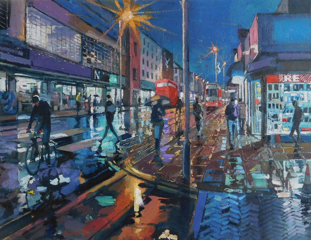 Mark-Pearson-artist-Golden-Reflections-Rye-Lane- 40cm-x-50cm.jpg