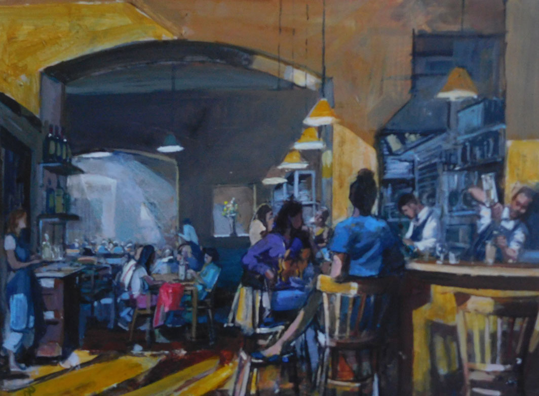 Mark-Pearson-artist-Lunchtime-Camberwell-Arms-40cm-x-50cm-acrylic-&-ink-on-paper.jpg