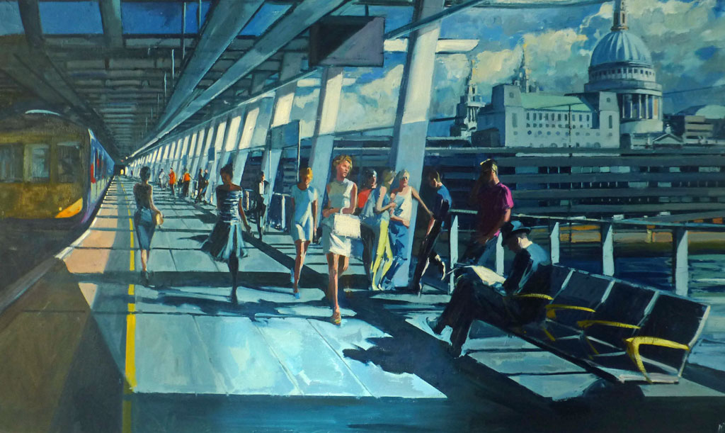 Mark-Pearson-artist-Platform-1-Blackfriars-94cm-x-154cm-oil-on-canvas