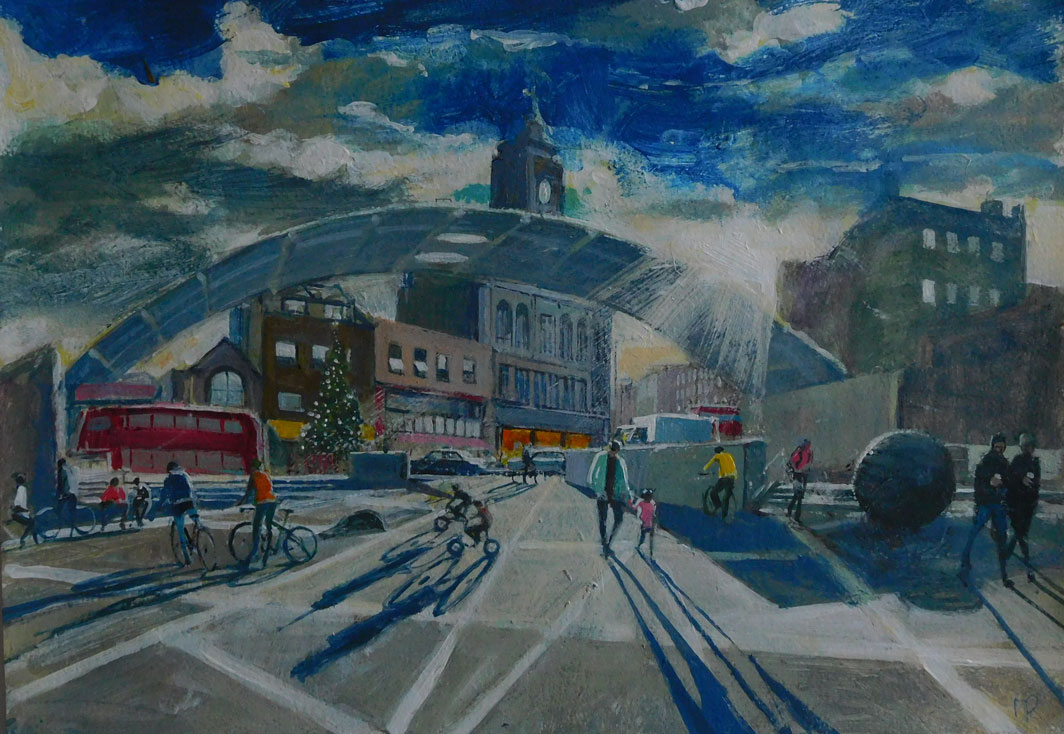 mark-Pearson-artist-Sunlight-on-Peckham-Arch-42cm-x-52cm-acrylic-&-ink-on-paper.jpg