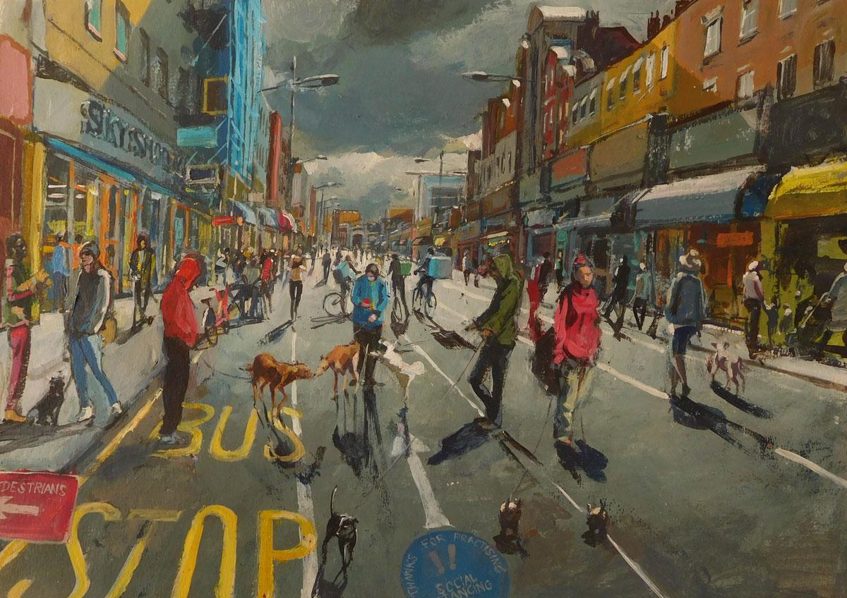 Mark-Pearson-artist-Walking-the-Dog-42cm-x-52cm-acrylic-&-ink-on-paper.jpg